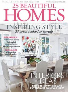 Beautiful Homes Magazine periodlivingjune2015 | more book nooks ideas