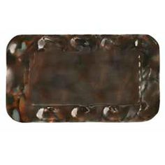 Jan Barboglio Charter Tray - Handcrafted forged iron.