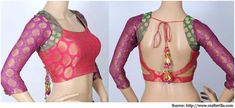 saree blouse designs - Google Search