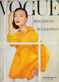 Ciao Bellísima - Vintage Cover Coquettes; Vogue May 1956