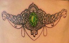 Sternum tattoo <3
