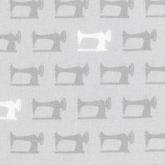 Robert Kaufman - Sewing Studio (Grey) Fabric