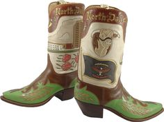 North Dakota cowboy boots
