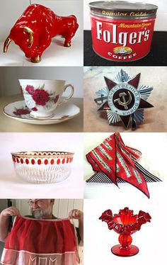 Red Hot Gifts. by livingavntglife on Etsy--Pinned with TreasuryPin.com
