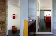 White weatherboard + modern. The Wollongong House   Habitusliving.com