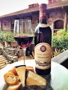 Feeling frisky today? Pair our rich 2011 Napa Valley Merlot with a creamy Whiskey Cheddar from Ireland. The combination will melt in your mouth and brighten up your day! Cheers