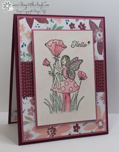 Stampin' Up! Fairy Celebration for the Happy Stampers Blog Hop