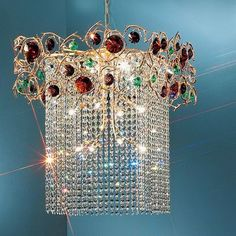 Classic Lighting Foresta Colorita 12 Light Crystal chandelier Finish: Silver Frost, Crystal Type: Black and Amethyst