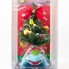 RARE! Pokemon Christmas Tree Venusaur Fushigibana Figure JAPAN ANIME MANGA
