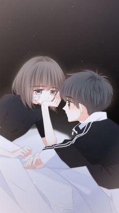 Love Never Fails Manga Anime Couple Love, Anime Love Story, Chibi Couple, Cute Couple Art, Manga Couple, Anime Cupples, Art Anime, Fanarts Anime, Anime Art Girl
