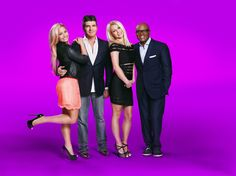 Photoshoot w/ Simon Cowell, Britney Spears and L.A Reid for The X Factor.