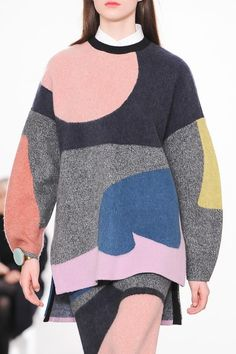 Issa London A/W '14 | nice color blocking
