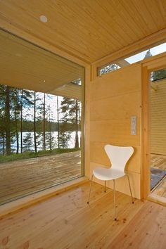 scandinavian retreat.: Prefab from Finland