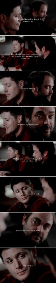 The Righteous Man and The King of Hell Supernatural Edit by Whistiel on instagram