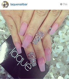 #LaQue Nail bar has done it once again. I love everything about these especially the tint & shine.