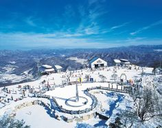 Vivaldi Park Ski World in Hongcheon, Korea