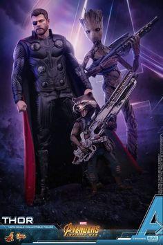 Thor  Groot Rocket Rakun