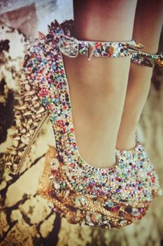 these are kind of shoes that I would buy simply to put on my shelf as a decoration and then stare at them