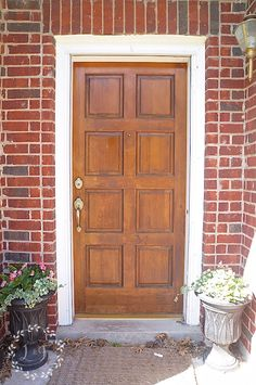 Front Door Refresh with Fusion Mineral Paint and a Giveaway!