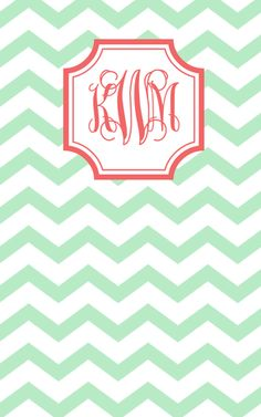 Gorgeous hand-stitched, notebook with my custom monogram (!) by May Designs.