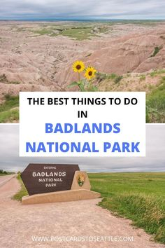 Planning a trip to the Badlands in South Dakota? Here are the best things to do in Badlands National Park. things to do in the Badlands | what to see in the Badlands | Badlands day trip | one day in Badlands National Park | things to do near Badlands Badlands National Park, Us National Parks, Yellowstone National Park, Stuff To Do, Things To Do, One Day Trip, Adventure Activities, United States Travel, South Dakota
