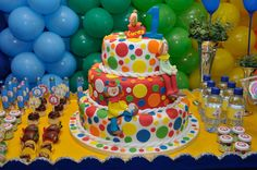 Decoração de Festas By Catia Lins: PALHAÇO / CIRCO