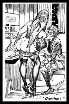 Bill Ward cartoon