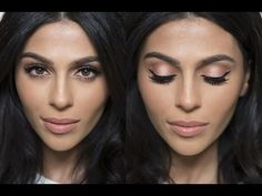 Peach Shimmer Makeup Tutorial   (Natural, easy and pretty! Perfect for everyday/casual look)