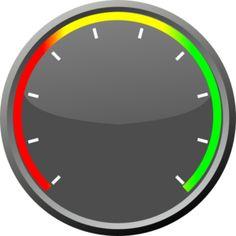 Speedometer clip art - vector clip art online, royalty free & public domain