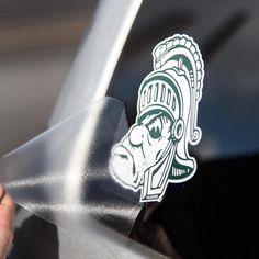 Nudge Nudge Printing Collegiate NCAA Corn Hole Bean Bag Toss Tailgate Game Vinyl Stickers Decal Set