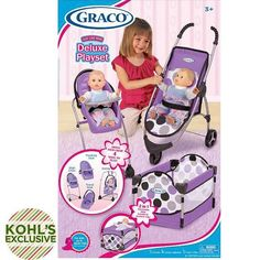 Graco Just Like Mom Deluxe Playset (Multicolor) black friday deal