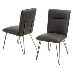 Shop Best Selling Home Decor Lewisville Dining Chair (Set of at Lowe's Canada. Find our selection of dining chairs at the lowest price guaranteed with price match. Dining Chair Set, Dining Room Chairs, Contemporary Dining Chairs, Parsons Chairs, Kitchen Chairs, All Modern, Your Style, Loft, Christopher Knight