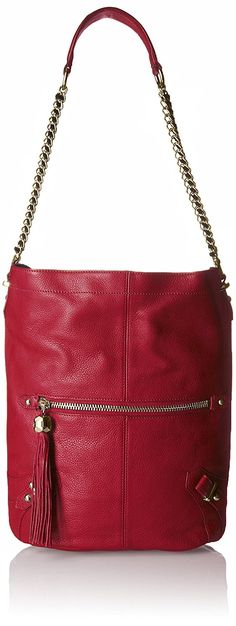 Dolce Vita Pebble Leather Shoulder Bag with Contrast Suede Bucket Bag * Read more reviews of the product by visiting the link on the image. (This is an Amazon Affiliate link and I receive a commission for the sales)