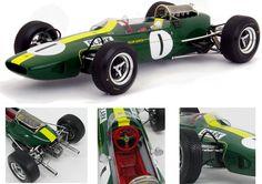 Lotus 33 Climax Winner German GP 1965 World Champion - J Clark 1:18 (Spark)