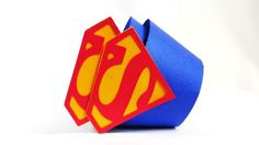 Superman Cupcake Wrappers 12 Pack by JazzyBug on Etsy, $12.99