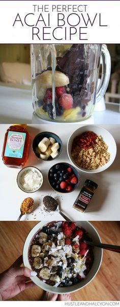 Acai Bowl Recipe: The best Acai Bowl Ever//In need of a detox? Get 10% off using our discount code 'pinterest20' at www.StayLeanTea.com.au