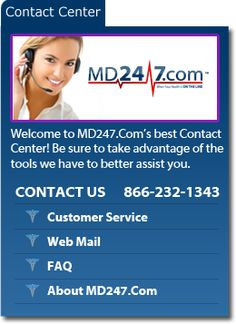 welcome to MD247.COM's best Contact Center!