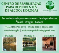 Encaminhamento para tratamento de dependentes de Álcool, Drogas e Tabaco