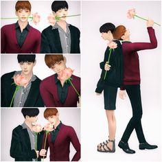 [SpringCat] BTS pose 1    장미를 창조해주신 별님과 고밤님께 치얼스!!!!!!    Thanks to all CC creators!!!        Skateboard ATS  Candy hanecco  Rose Included in zip file  Pose Dropbox