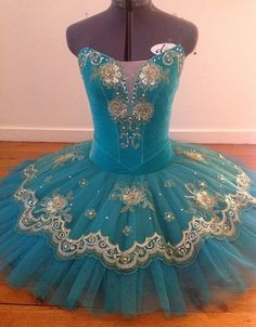 Ballet Costume In Blue