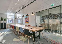 Interieur design diverse locaties Driessen HRM