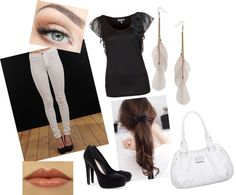 """""""black"""" by aimy21 on Polyvore"""