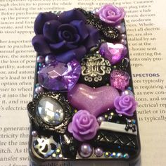 Anna Sui iPhone case DIY.