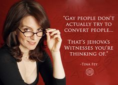 """It floors me that the homophobes reckon """"the gays"""" are somehow trying to convert everybody to """"the gay lifestyle"""""""