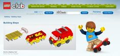 Lego Club builds----space shuttle, dachshund, bulldozer, pug, windmill, indy car, pirate scene, rhino, taxi mystery van