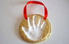 CBC Parents - Activities - Keepsake Craft: Baking Soda Clay Handprint Ornaments