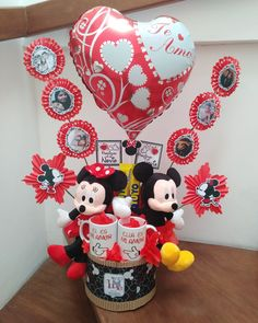 Pink Candy, Gift Baskets, Mickey Mouse, Balloons, Bouquet, Valentines, Birthday, Holiday, Diy