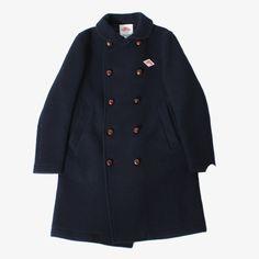 DANTON 丸襟のウールコート