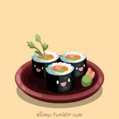 Sushi as you never seen it before!