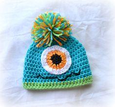 Crochet Baby Beanie Newborn to 5T Blue by littlebuttercupbaby, $19.00